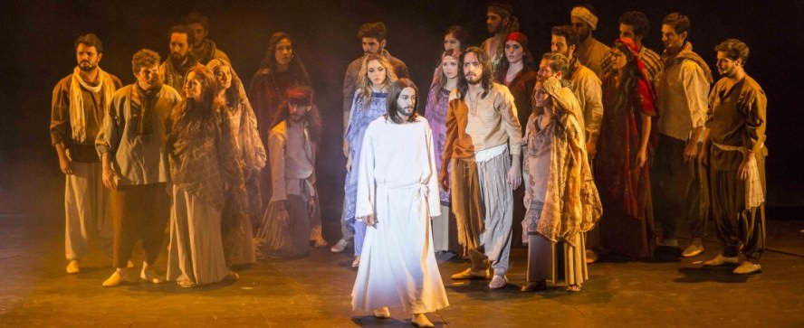 Actores de Jesucristo Superstar